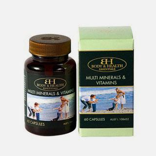 Body & Health Multi Mineral & Vitamin