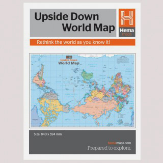 Upside down map