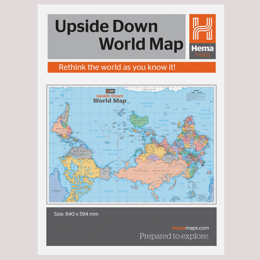 Hema maps upside down world map utk upside down map gumiabroncs Gallery