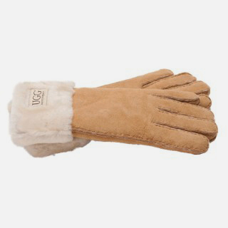 Sheepskin Fur Cuff Glove