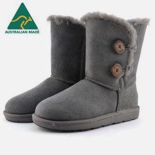 2 Button Grey UGG Mubo